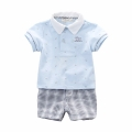 Little Sportsman Shirt and Shorts Set