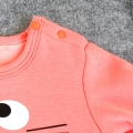 Infant/Toddler's Cute Totoro Graphic Jumpsuit & Hat Set in Pink (Unisex)
