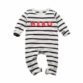 Baby/Toddler's Cotton Striped Hero Long-Sleeve One-Piece