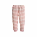 Toddler/Girl's Pink Long-Sleeve Top & Striped Pants Pajama Set