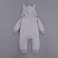 Infant/Toddler's Cute Totoro Hooded Jumpsuit in Grey (Unisex)
