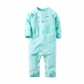Infant/Toddler's Bear with Ears Fleece Jumpsuit/One-Piece (Unisex)