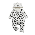 Infant/Toddler's Lion Hooded Fleece Jumpsuit with 3D Ears