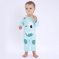 Baby's Cute Monster Patterned Jumpsuit / One-Piece