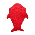 Baby's Cute Shark Sleeping Bag in Red