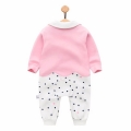 Lady Fox Baby Girl Jumpsuit in Pink