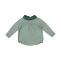 Baby Girl/Girl's Sweet Long-Sleeve Knitted Bodysuit in Mint