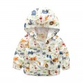 Adorable Animal-Themed Zip-Up Hooded Jacket for Baby & Boys