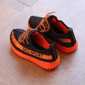 Baby & Toddler Boy/Girl's Knitted Lace-Up LED Sneakers Light Shoes