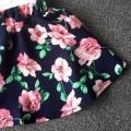 Love Floral Tank Top and Skirt Set for Toddler Girls