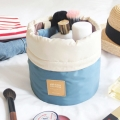 Drawstring Cosmetic Bags in Blue (2pc-set)