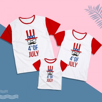 Jolly Fourth of July Tee Family Matching Look