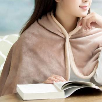 Comfy Miltifunction Solid Plush Blanket for Women