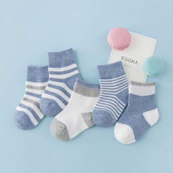 5-pack Comfy Striped Socks for Baby and Toddler