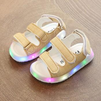 Baby and Toddler Girl's Pretty LED Sandal